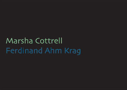 invitation card: Marsha Cottrell & Ferdinand Ahm Krag